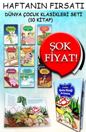 Renkli Çocuk Kitapları Seti ( 10 Kitap )