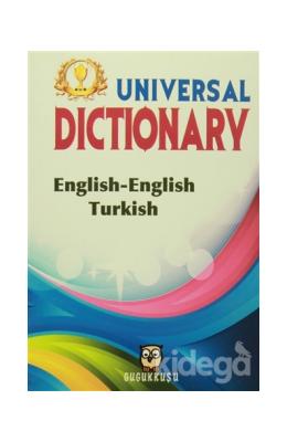 Universal Dictionary English-English Turkish