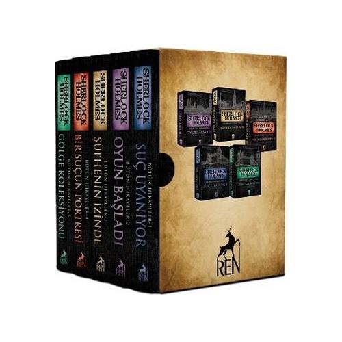Sherlock Holmes - Bütün Hikayeler (5 Kitaplık Kutulu Set)