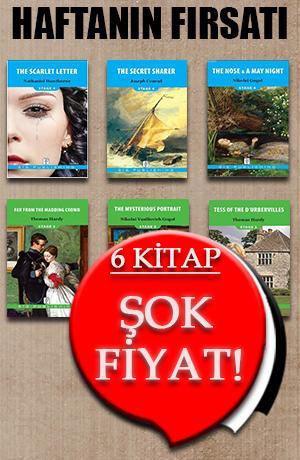Haftanın Fırsatı - İngilizce Hikaye Kitapları - 6 Kitap